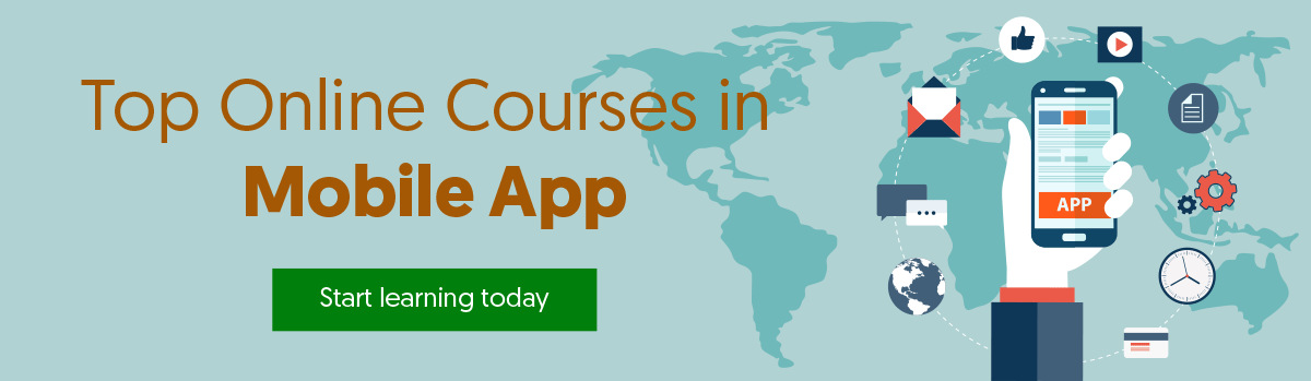 Top Online Courses in Mobile App